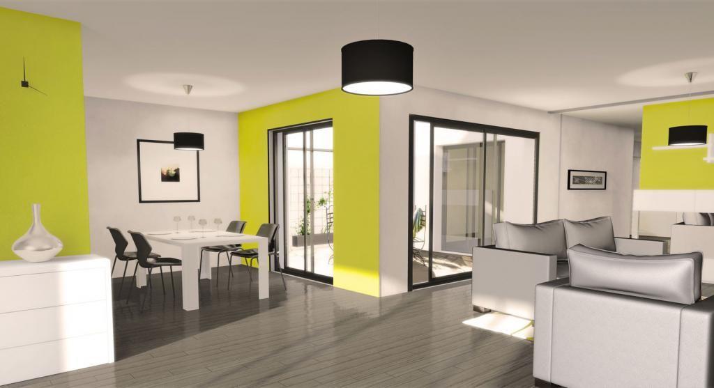 Séjour - Maison Futura Home-Patio Nos intérieurs de maisons