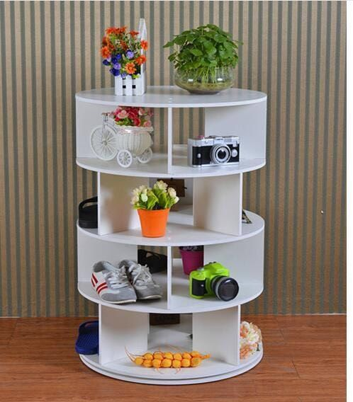 Lazy Susan Shoe Rack Simple 4 Tier Lazy Susan Shoe Rack Finally In The Uk  This Storage Idea Decorating Design
