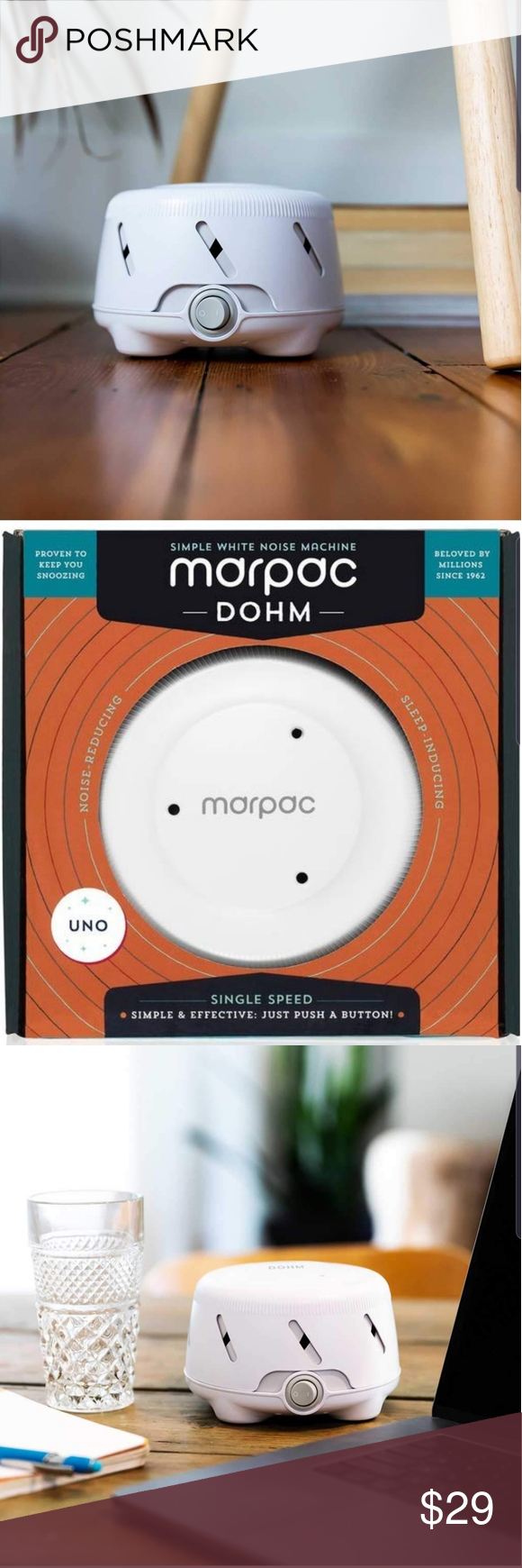 Marpac Dohm White Noise Sound Machine Sleep Baby NWT