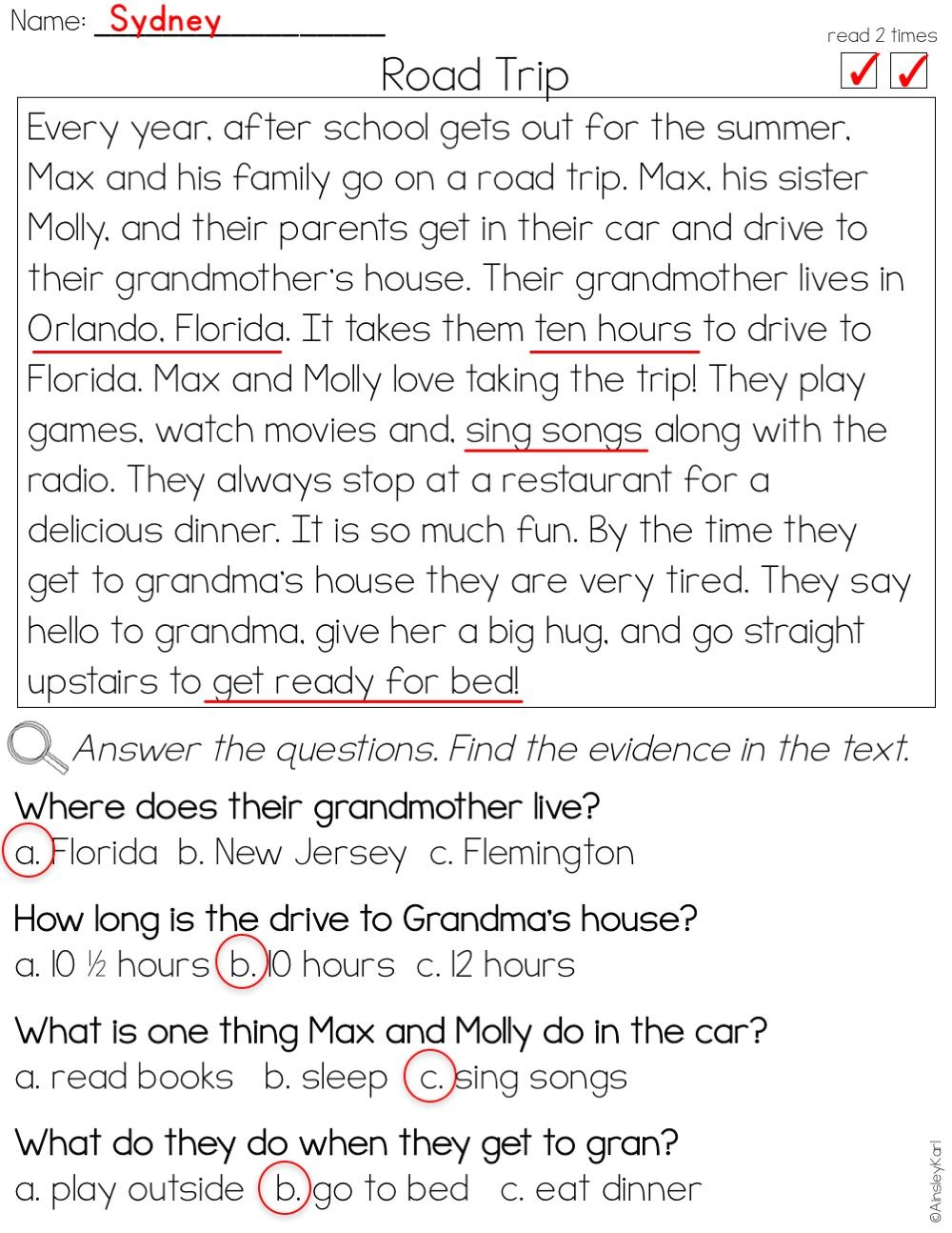 - Phonics Reading Passages For Fluency And Comprehension - Fictional
