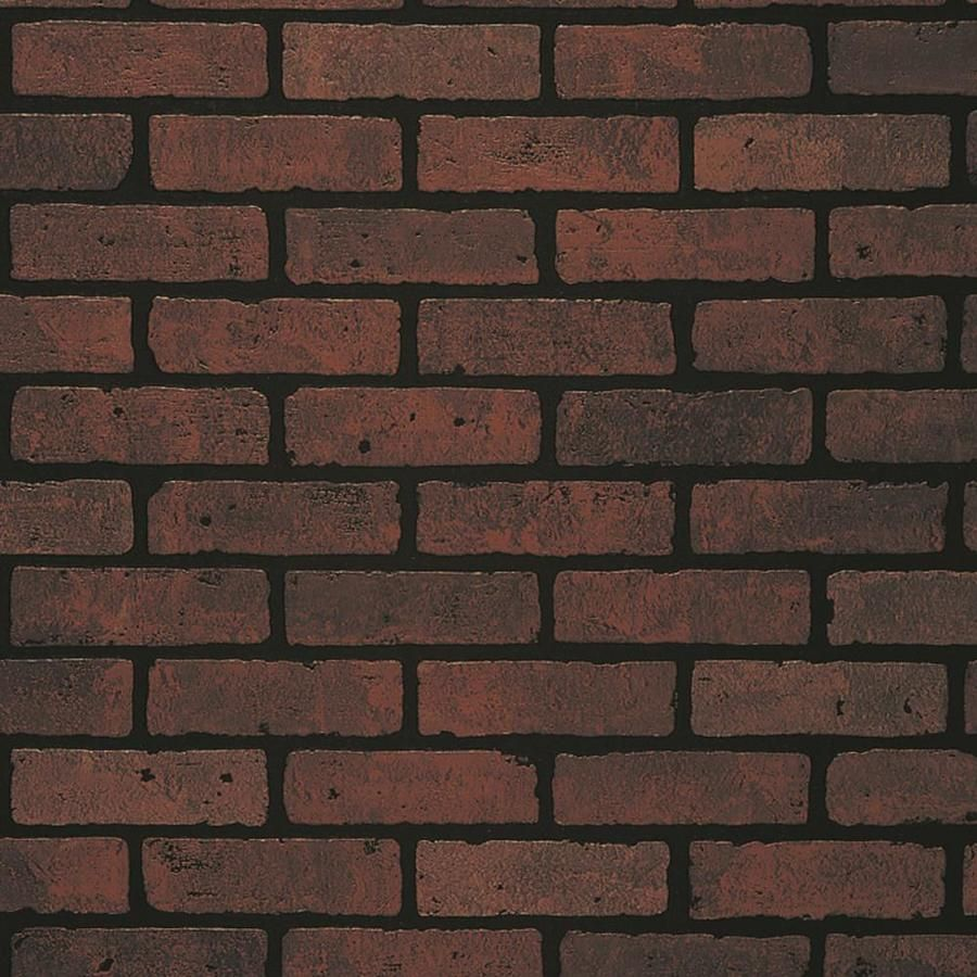30 Per 47 75 In X 7 98 Ft Perfect For Faux Brick Accent Walls Can Paint Over Added Depth Detail Embossed Red Hardboard Wall Panel