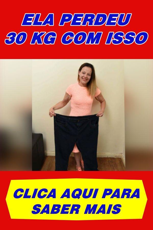 Ela conseguiu eliminar 30 kg. O segredo? Clique na imagem ou no link para descobrir.  #lowcarb #lowc...