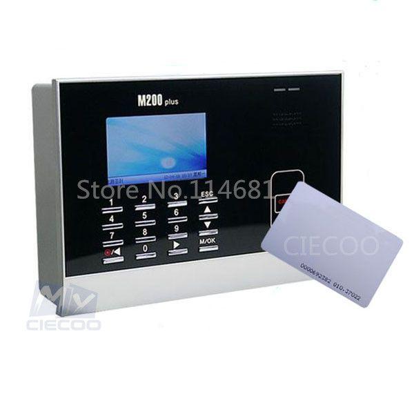 CIECOO M200 PLUS biometric 125KHZ ID card time attendance