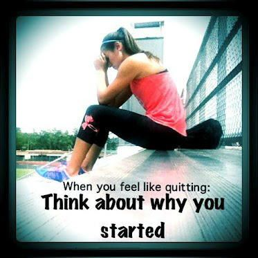 . . .  and it is sometimes the case when you feel like quitting . . . you make it happen, from beginning to end.