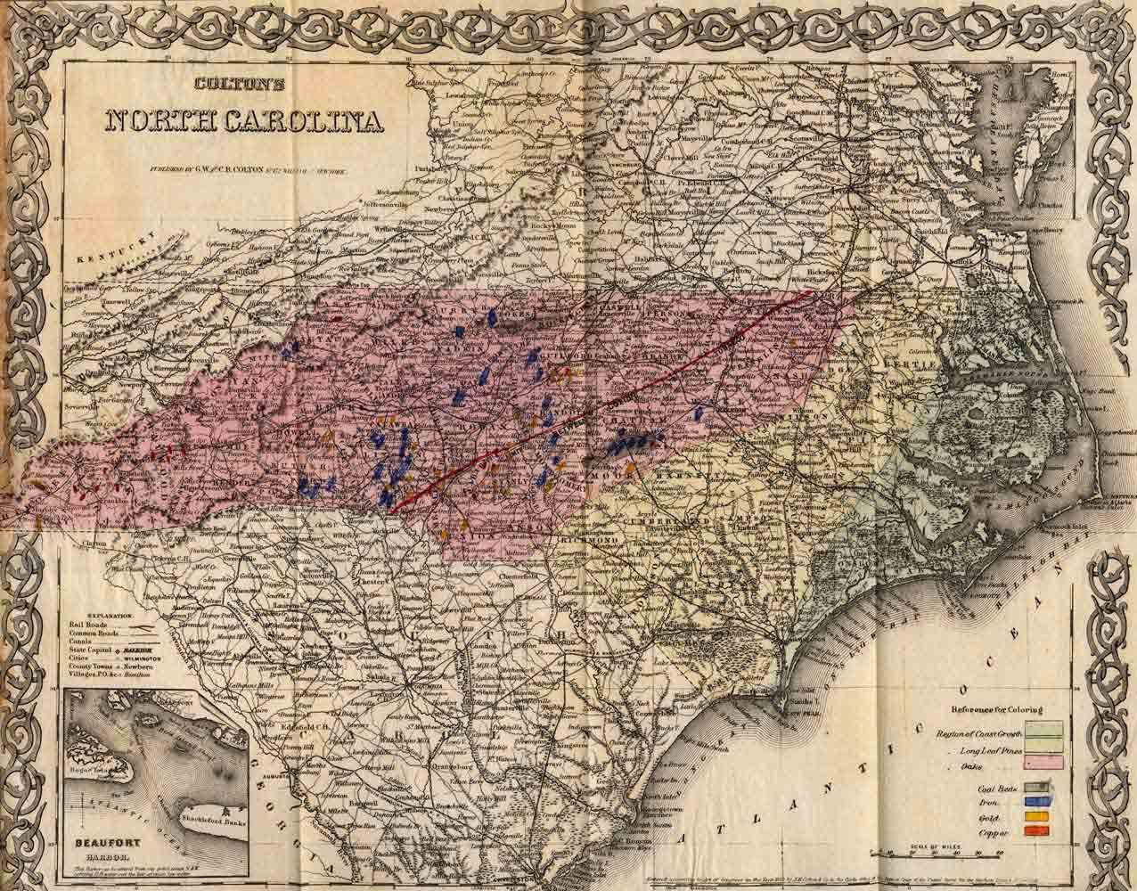 early images of old eastern nc furniture | 1700s 1800s map north ...