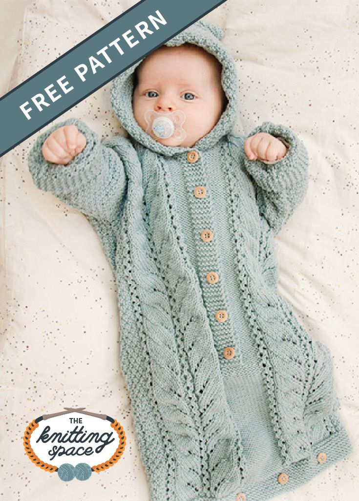 Photo of Dreamy Snooze Knitted Baby Bag [FREE Knitting Pattern]