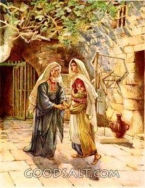 Mary Salutes Elizabeth