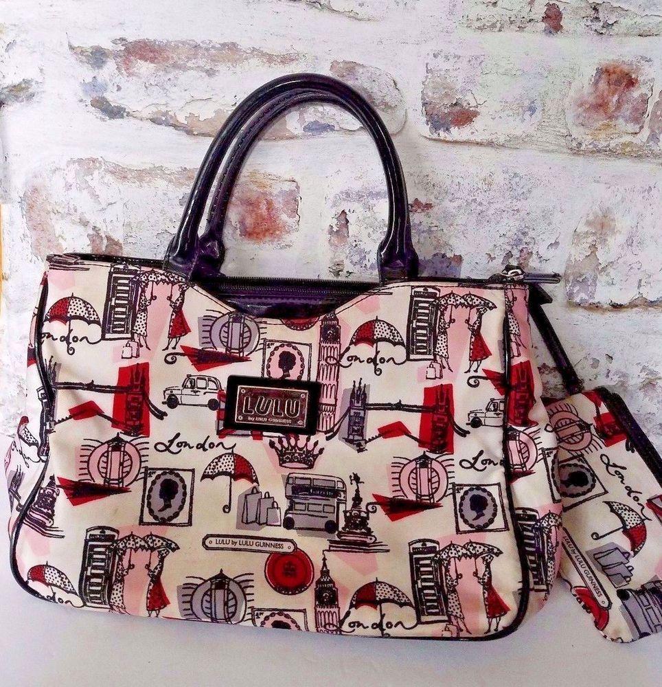 f95523c1a3c Lulu Guinness, Shopper Tote, Satchel, London, Pouch, Satchel Purse,  Crossbody