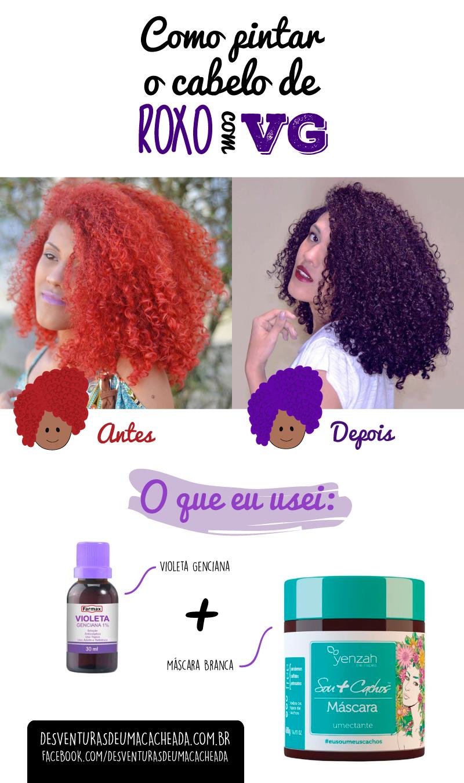 Update Como Pintar O Cabelo De Roxo Com Violeta Genciana Hair