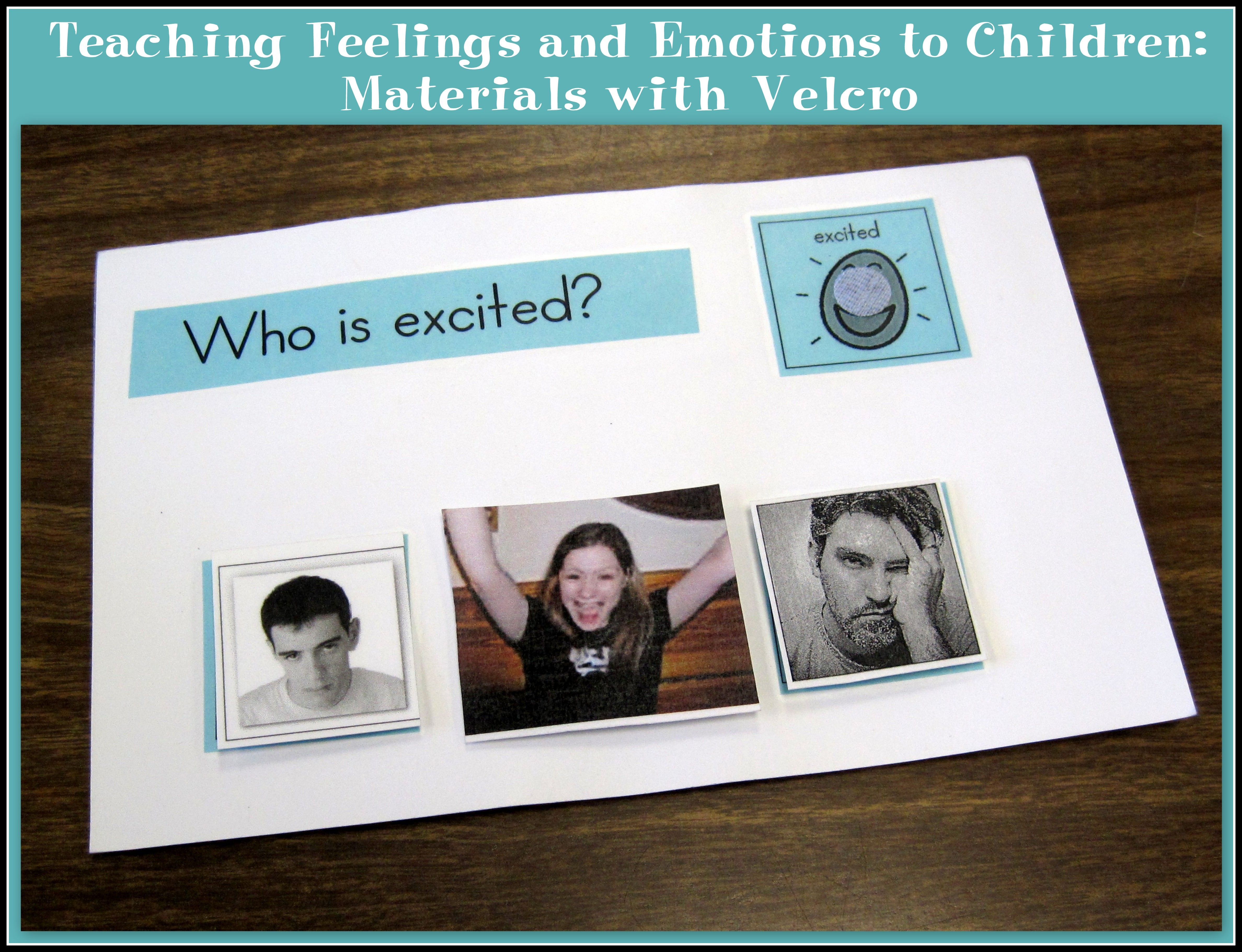 Teaching Feelings And Emotions To Children Materials With