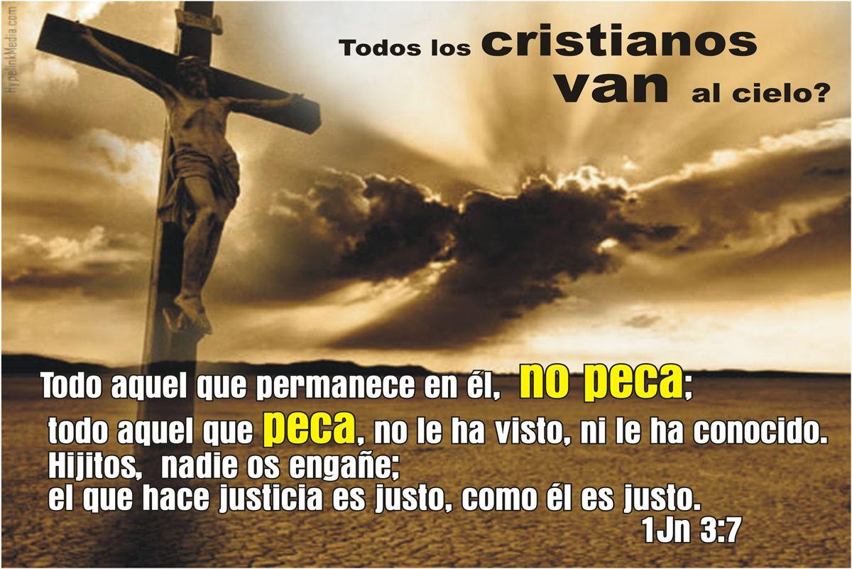 1Jn 2:4 El que dice: Yo le conozco, y no guarda sus mandamientos, el ...