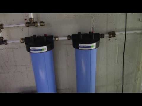 Diy Whole House Water Filter System Youtube Whole House Water Filter Water Filters System Water Purification