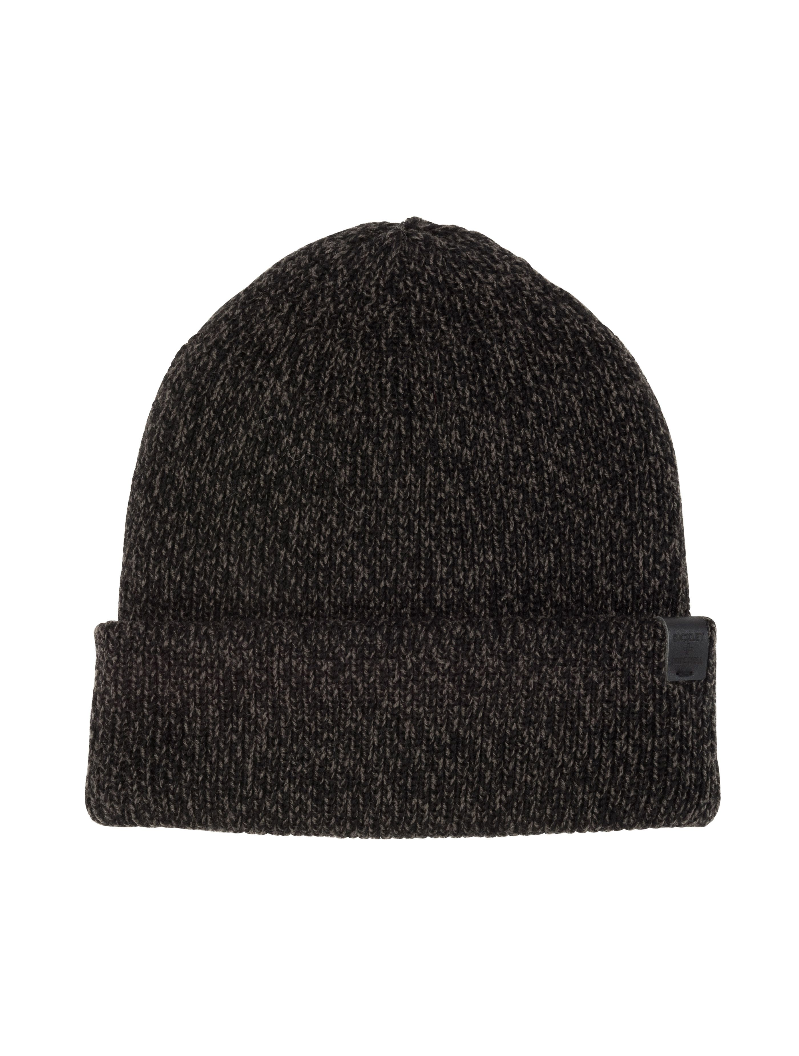 47244d367c2 black twisted beanie for MEN
