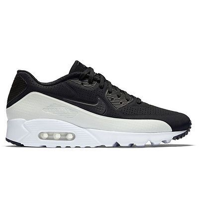 wholesale dealer 00fec 54332 Nike Air Max 90 Ultra Moire Mens 819477-011 Black White Running Shoes Size 9