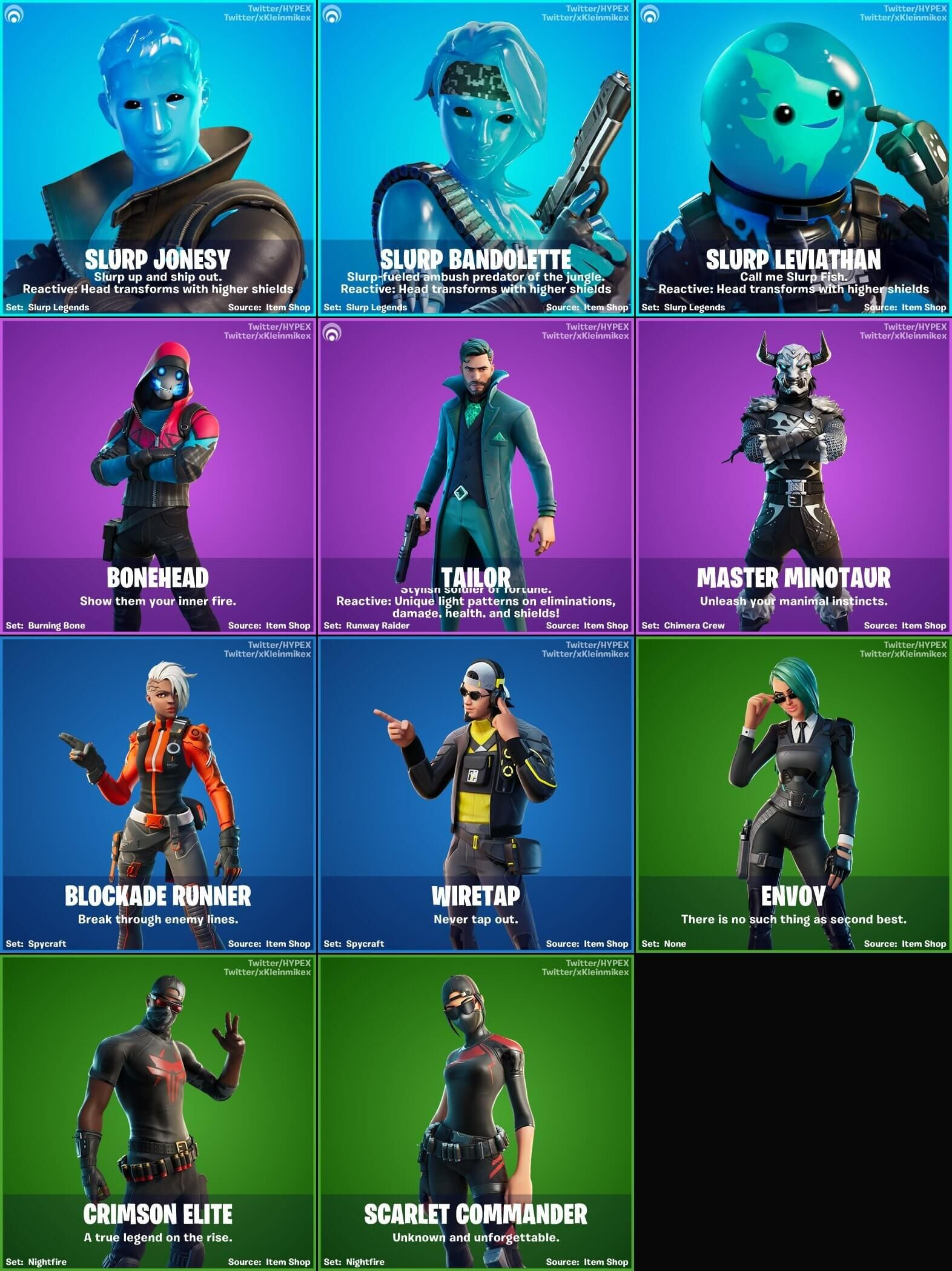 Pin On Fortnite Chapter 2 Skins Outfits