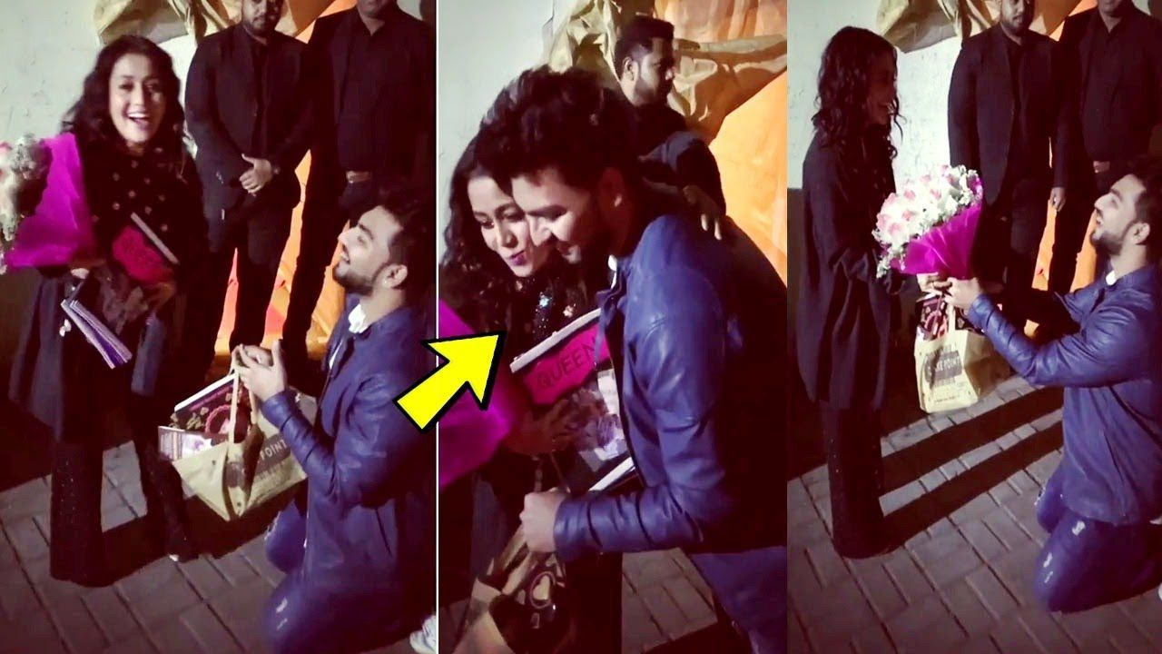 Neha Kakkar PROPOSED by her Fan on Valentines day after