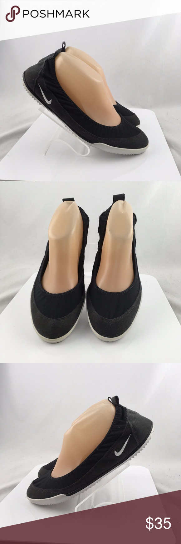 Nike Studio Ballet Flats Athletic Shoes New Nike Studio Ballet Flats  Training Athletic Shoes Womens Size 9.5M black Nike Shoes Flats   Loafers e66b2473a