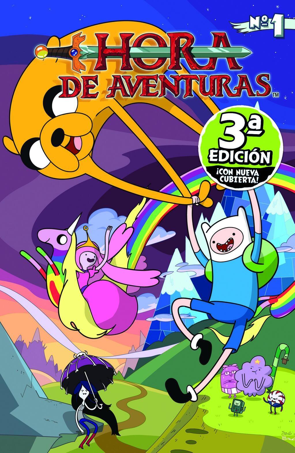 Hora de Aventuras. Portada de la 3ª Edición de la versión para España. Norma Editorial.