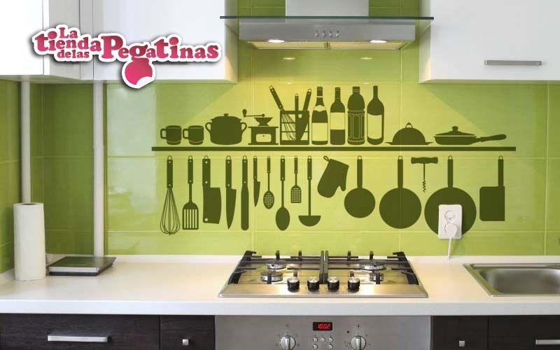 Vinilos para cocina buscar con google cocina - Pegatinas para azulejos ...
