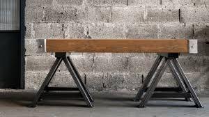 Tavolo In Ferro Brunito E Legno : Resultado de imagen de tavolo in ferro brunito e legno mesa bar