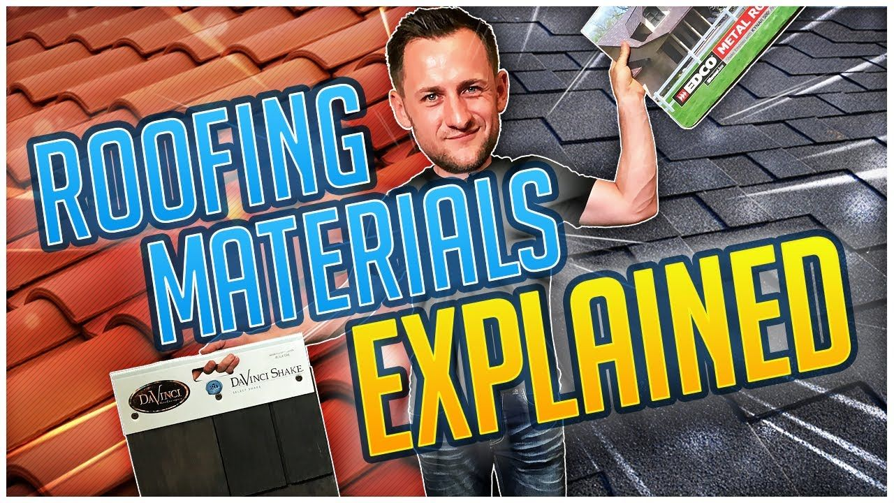 Roofing Materials review asphalt shingles , rubber, metal