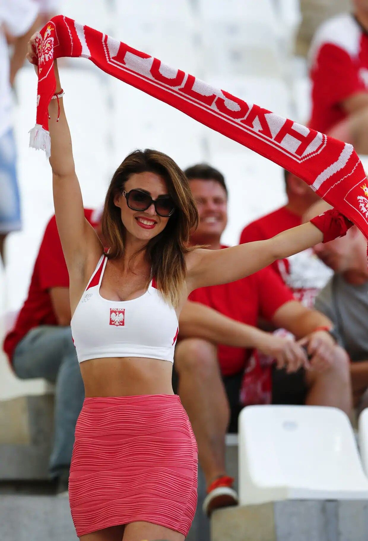 Photos Of Hot Female Fans In World Cup 2018 Poland  Pika -6218