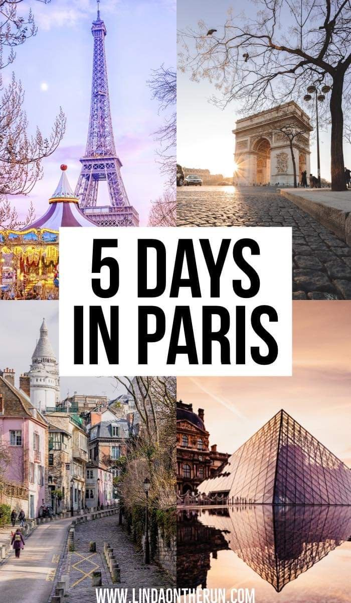 The Ultimate 5 Days In Paris Itinerary You Should Steal