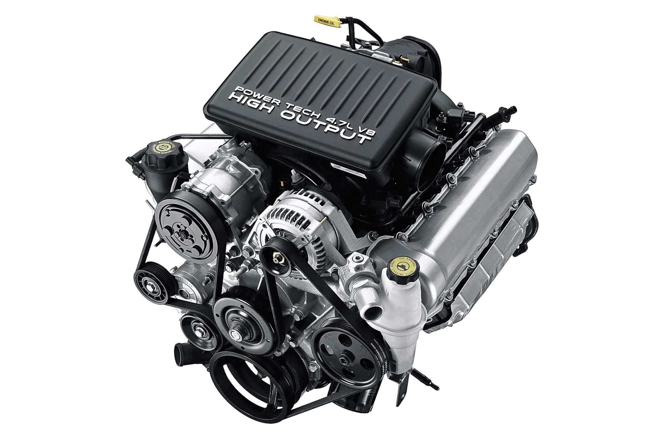 4.7 Dodge Motor >> Power Tech 4 7 L V8 Power Mills Jeep Wj Jeep Grand Cherokee Jeep