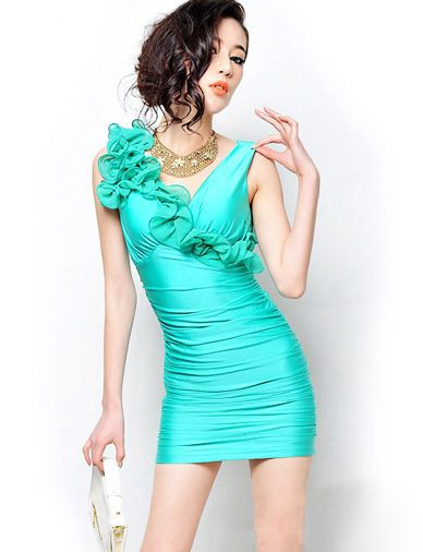 Vogue Stringy-Selvedge Detail Bodycon Dress in Pure Color