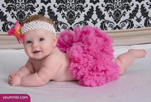 Unique baby girl photoshoot ideas google search