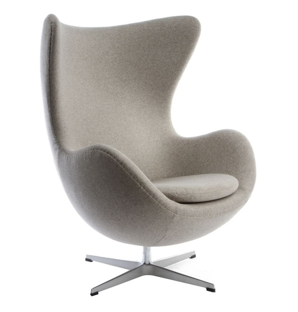 Arne jacobsen egg chair white - Replica Arne Jacobsen Egg Chair Premium By Arne Jacobsen Matt Blatt