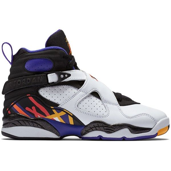 buy popular 0ca80 2c881 Air Jordan Kids 8 Retro Grade School   DTLR.com ( 150) ❤ liked on Polyvore  featuring jordans, shoes and sneakers