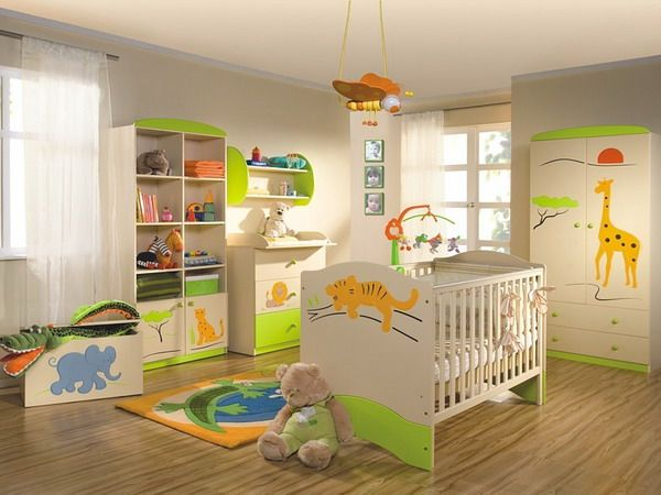 Babyzimmer junge dschungel  25 Cool Jungle-Inspired Kids Room Designs | DigsDigs | Some Day ...