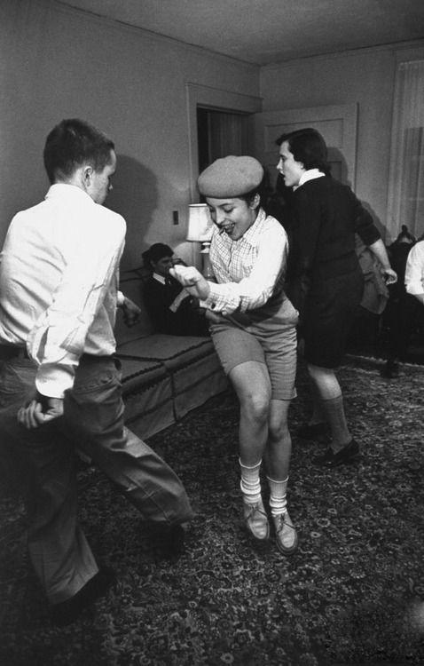 Jitterbug Dance Party, 1954 Photo By - Lisa Larsen This -8470