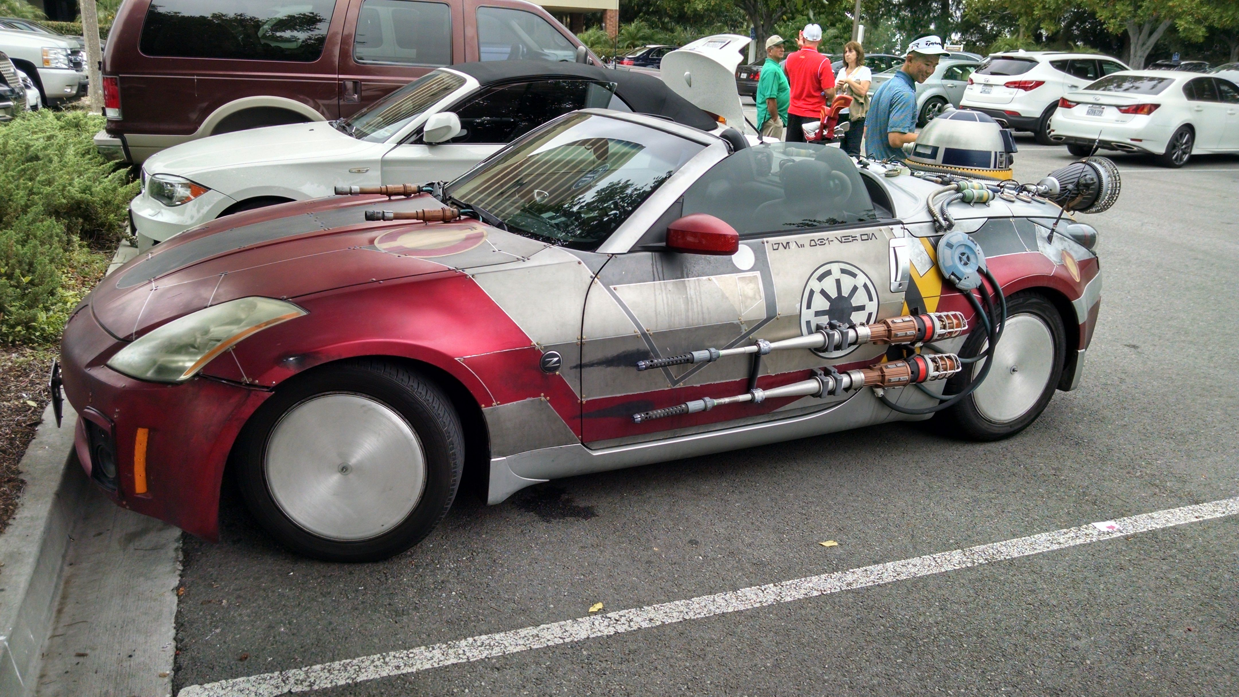 The ultimate Star Wars tribute car 8aa7a83744