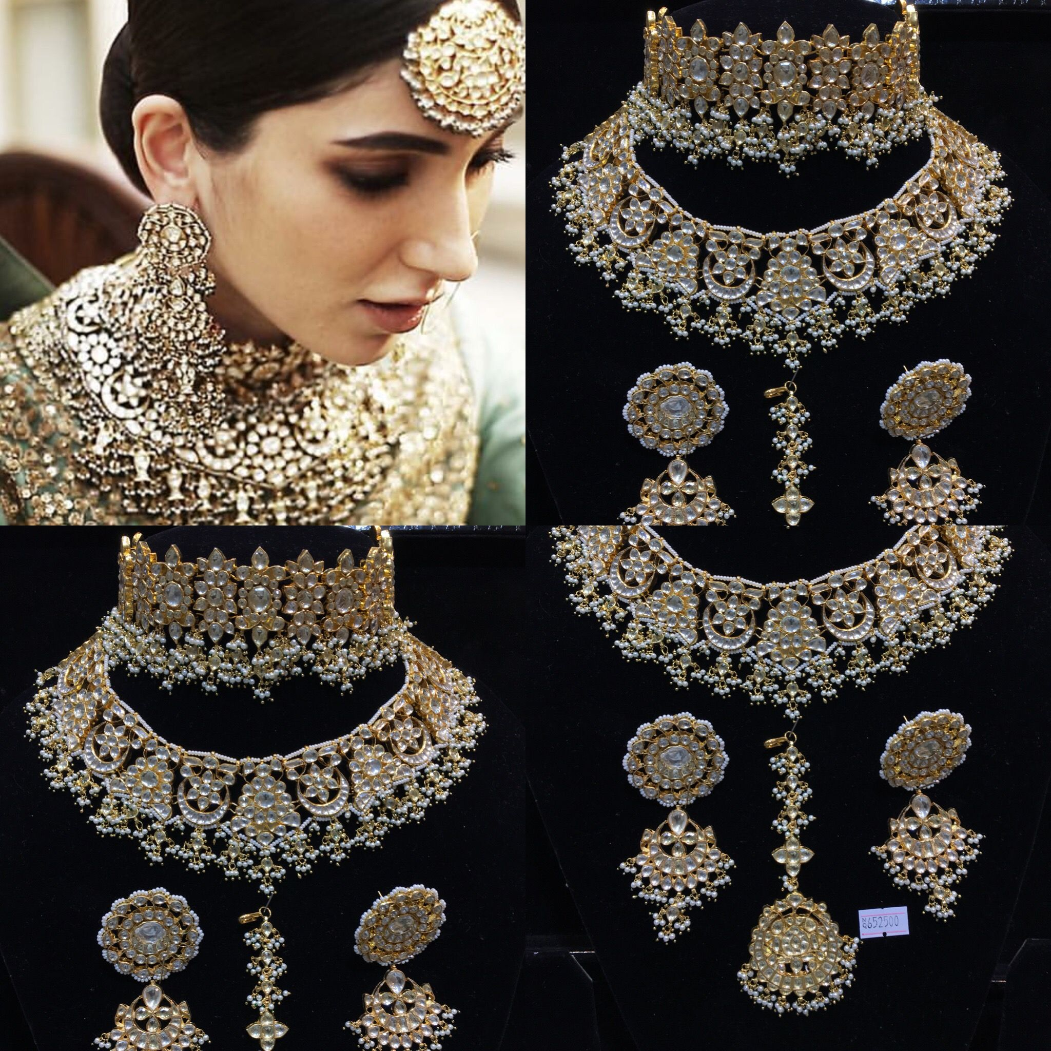 Bridal Collection Jewellery: Pin By G J International On Kundan Bridal Set Sabyasachi