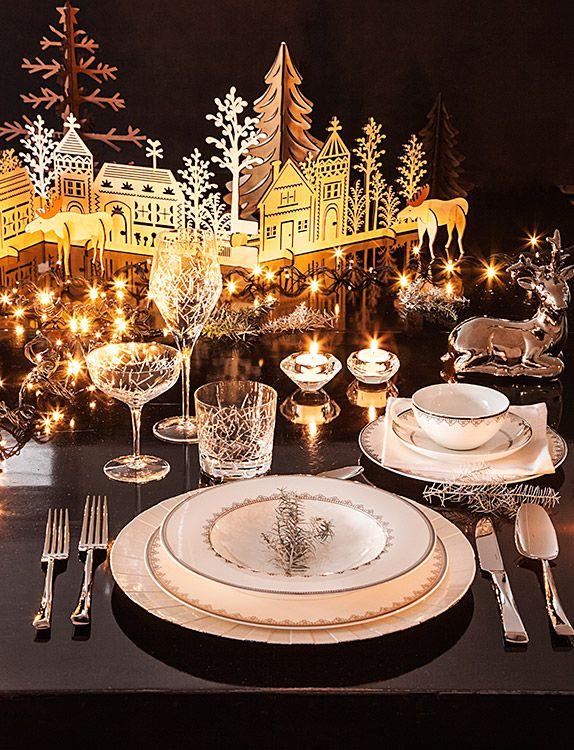 Ideas para decorar una mesa original para navidad y fin de año