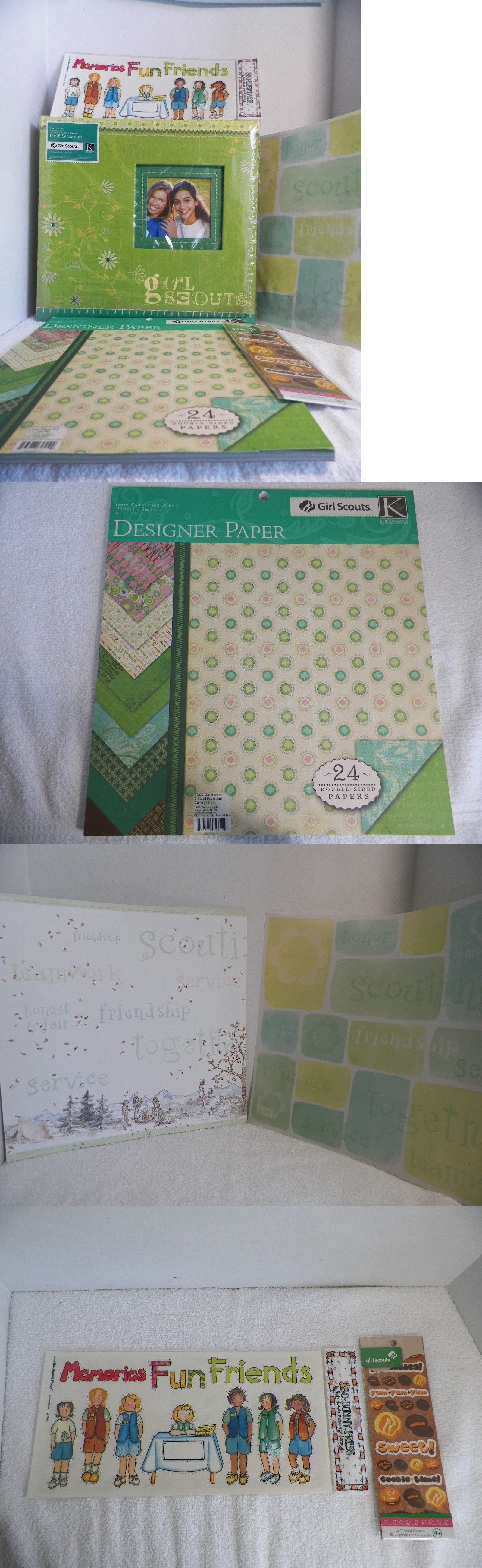 Albums And Refills 33875 K And Company Girl Scouts Scrapbook Album