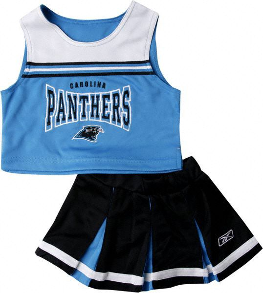 carolina panthers youth cheerleading outfit