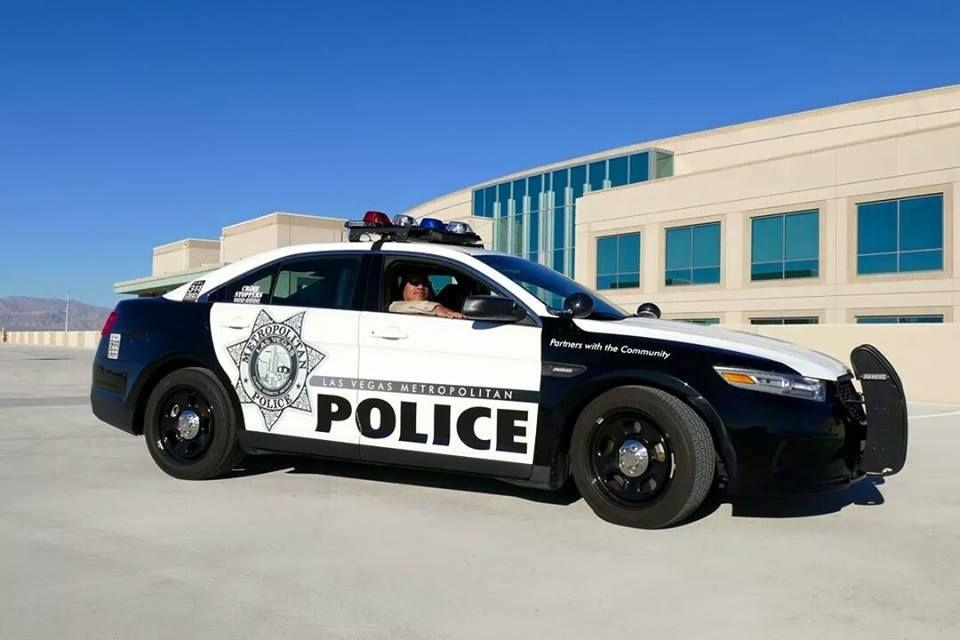 Las Vegas Metropolitan Pd Ford Police Interceptor Police Cars Police Ford Police
