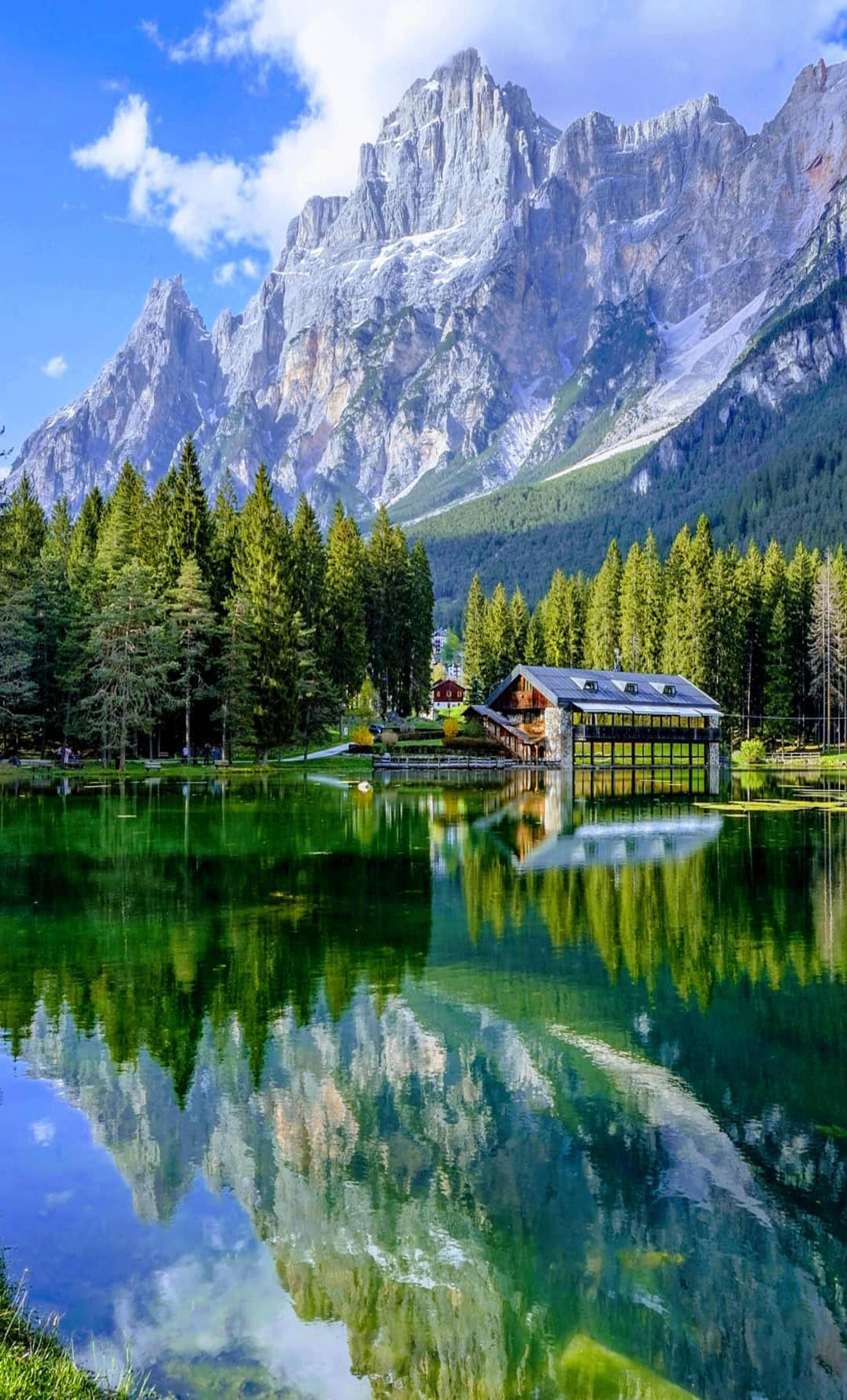 Mosigo Lake Italy Beautiful Nature Pictures Nature Pictures Landscape Photography