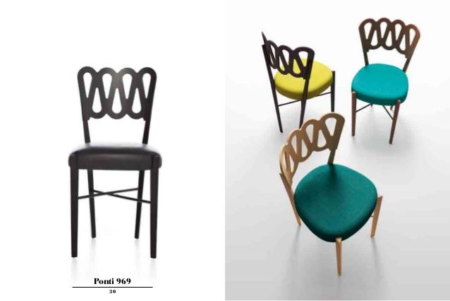 Ponti 969 Design Chair, By Gio Ponti
