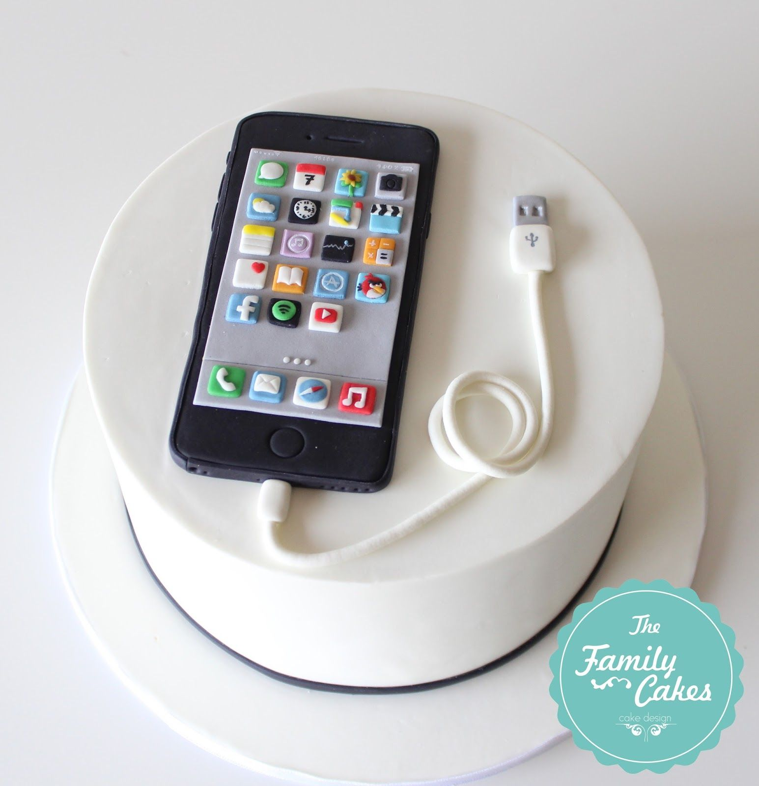 Iphone Cake by The Family Cakes Cakes by TFC Pinterest Iphone