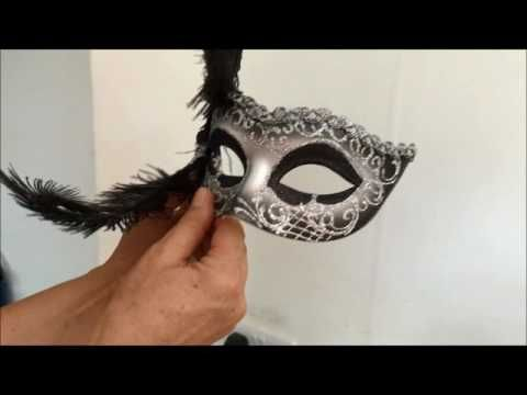 Sticks for attaching to Masquerade Masks ideal for glasses wearers | Just Posh Masks