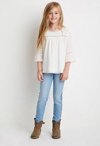 Side-Beaded Jeans (Kids)  2032de9f9c8