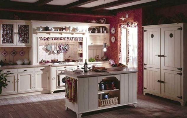 Arredamento country chic: cucina | Дизайн интерьера и экстерьера с ...
