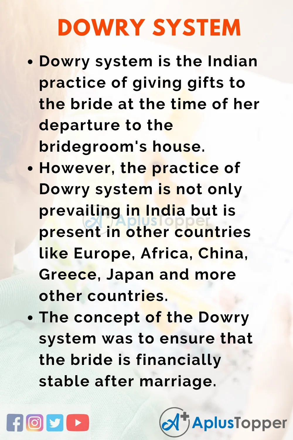 10 Line On Dowry System For Student And Children In English A Plu Topper 2020 India Social Evil Paragraph Writing Essay