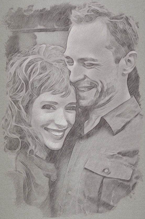 Custom pencil drawing sketch photo gift song by studiojones1 139 00