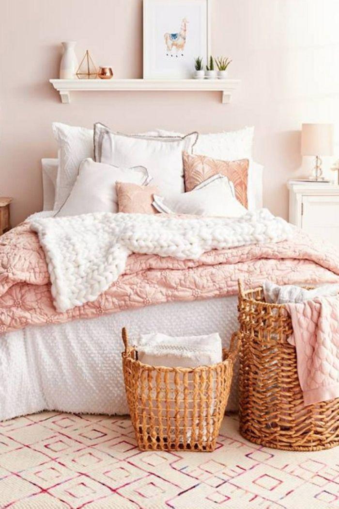 1001 Ideen Fur Altrosa Wandfarbe Zum Geniessen Rosen Schlafzimmer Buntes Schlafzimmer Tumblr Zimmer Gestalten