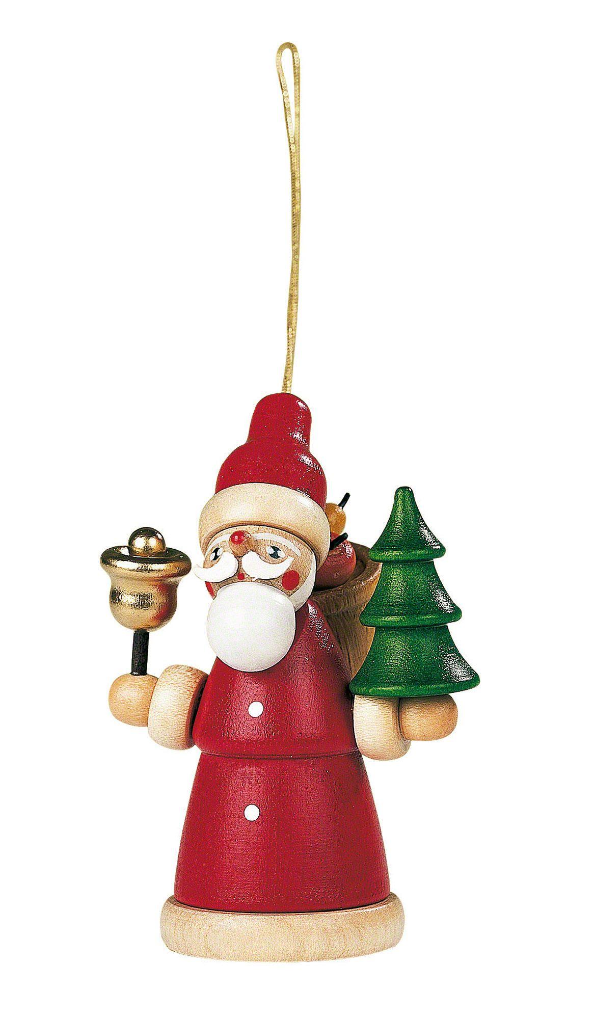 Christbaumschmuck - Weihnachtsmann (8cm) von Müller Kleinkunst
